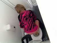 Spy toilet romania nice girl
